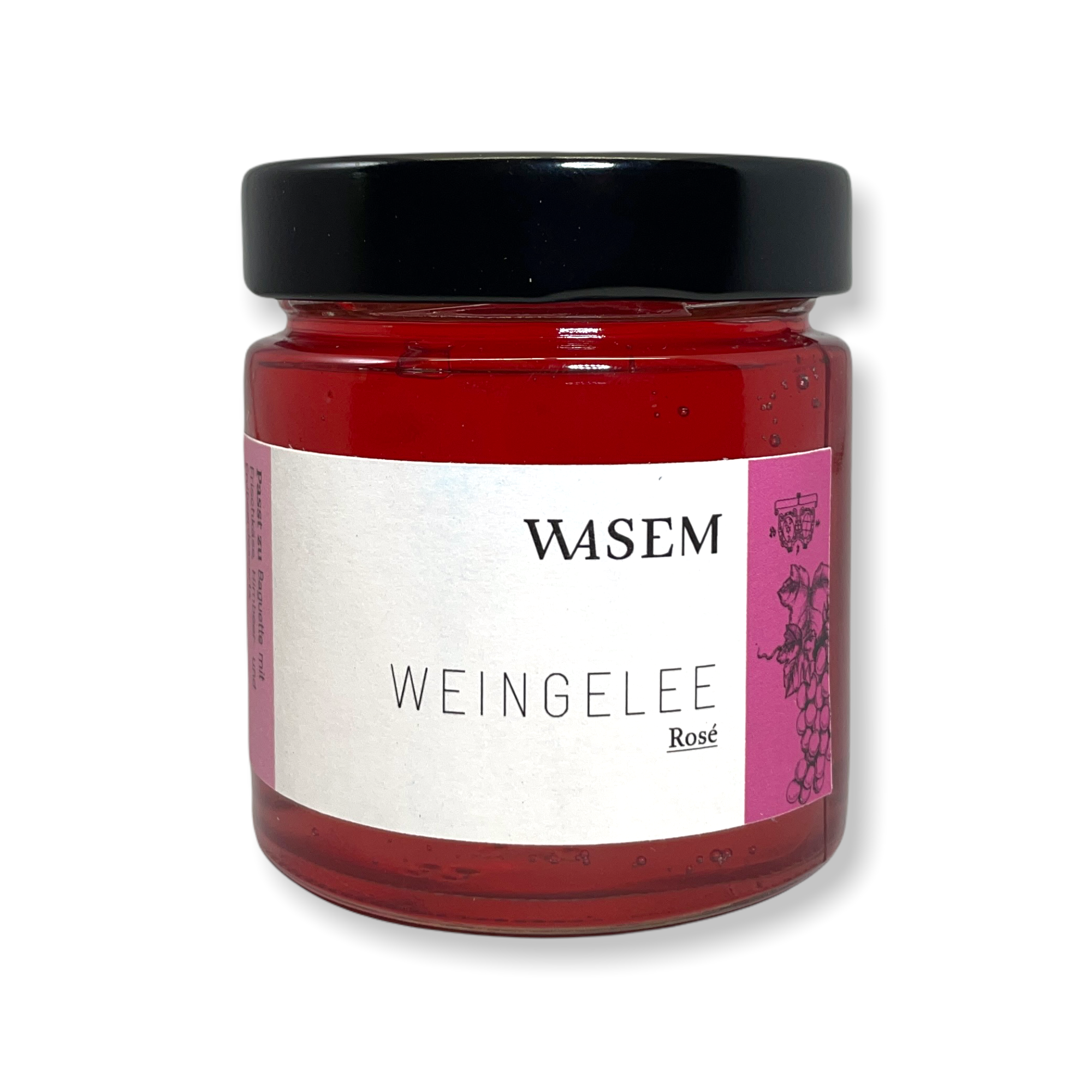 Weingelee Rosé