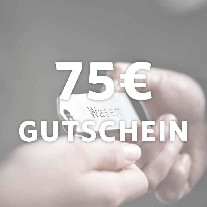 Gutschein im Wert von 75 €