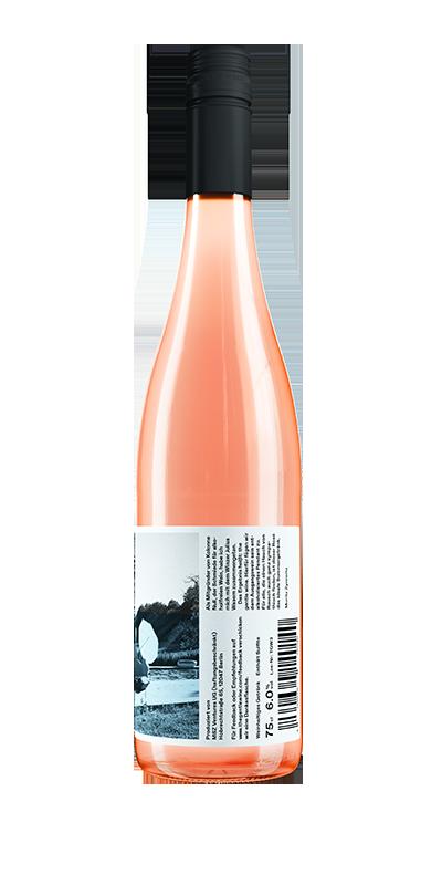 the gentle wine - Rosé - 6.0 % vol.